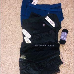 NWT (6) Victoria Sec Panties plus Hanky Panky, XLG